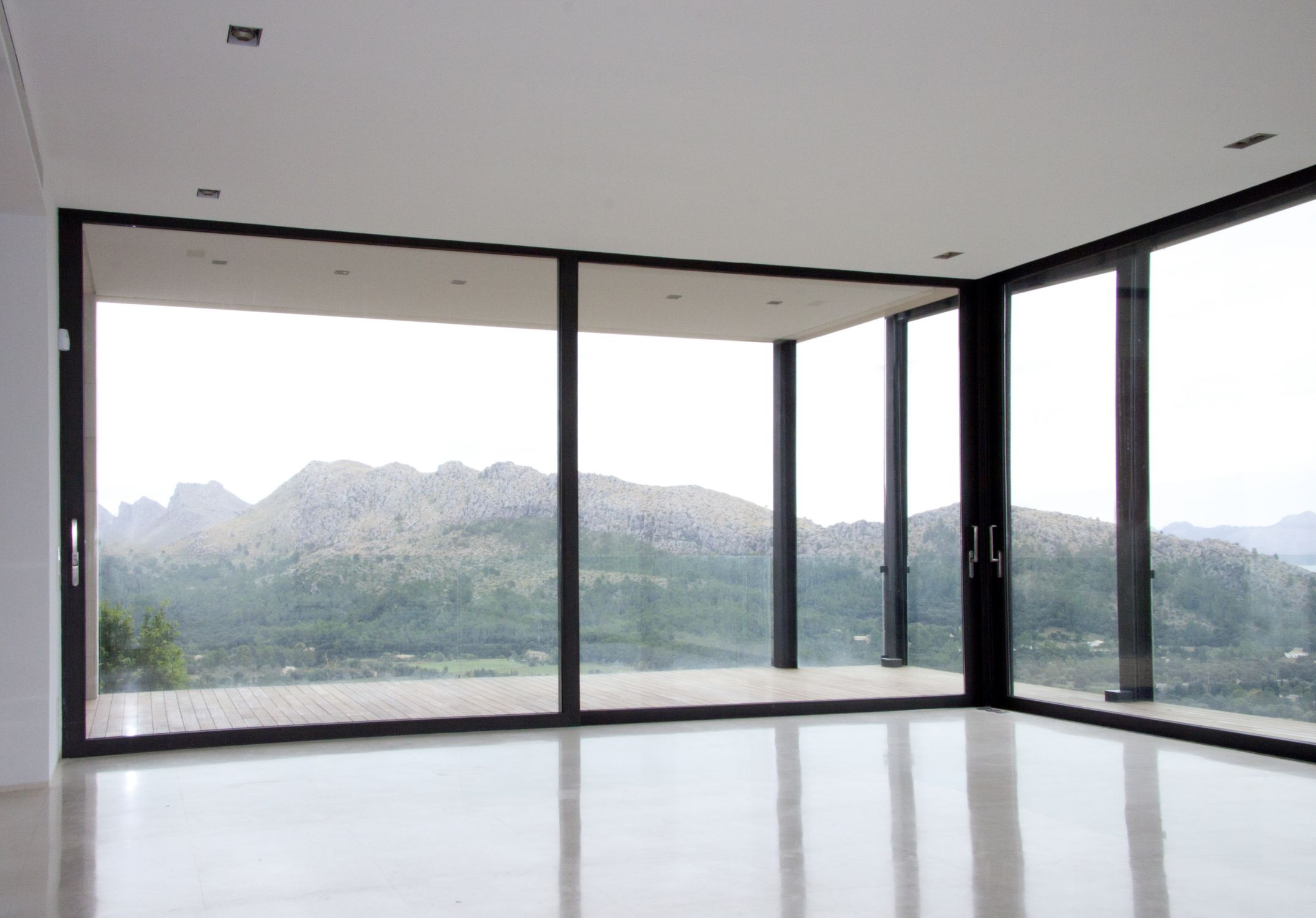 Sliding Doors Schco Ass 50 Mra Aluminium Carpentry Pollensa
