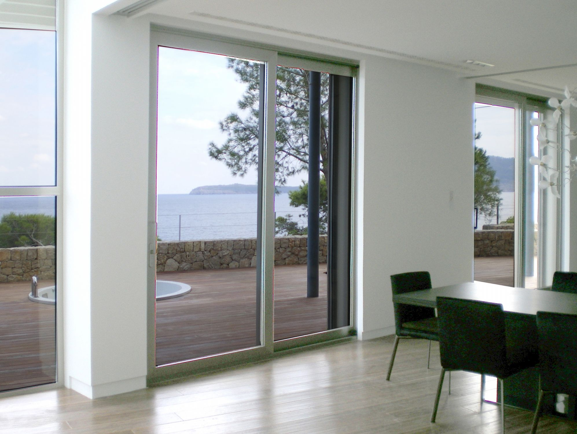 Sliding Doors Schco Ass 39 Mra Aluminium Carpentry Pollensa