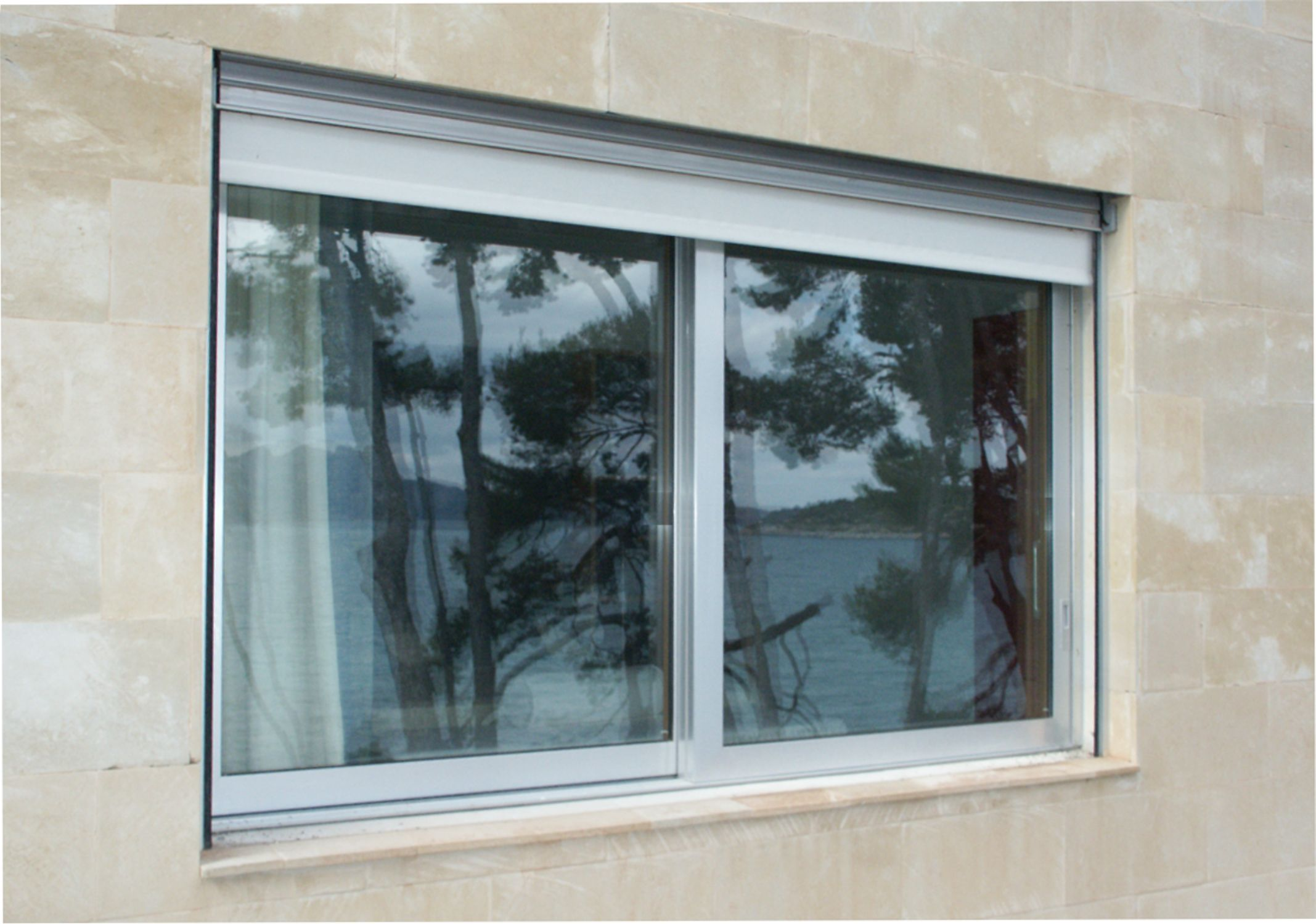 Persianas enrollables de aluminio exterior persiana enrollable pvc para exterior desde m with - Persianas enrollables exterior ...